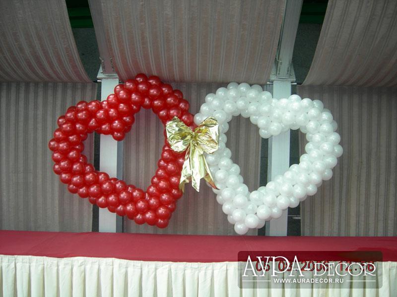 Как украсить шарами комнату на годовщину свадьбы своими руками 93
